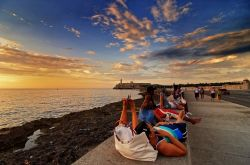 malecon sunset 2009